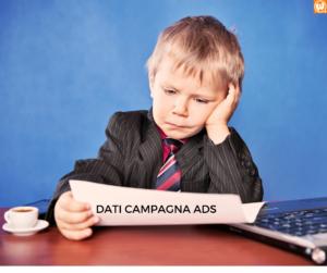 LA DELUSIONE DELLA CAMPAGNA ADS